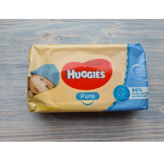 HUGGIES Baby wipes Pure (56 psc.)