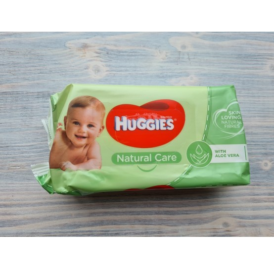 HUGGIES Baby wipes Natural care (56 psc.)