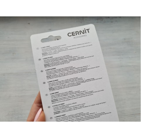 Cernit cutting blades, 3 pcs.