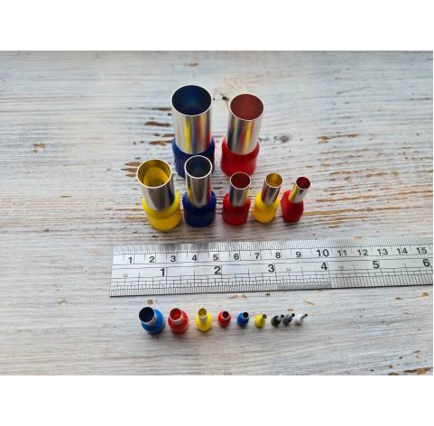 "Set of metal cutters ""Rounds"", 16 pcs., Ø 0.75 mm-1.6 cm"