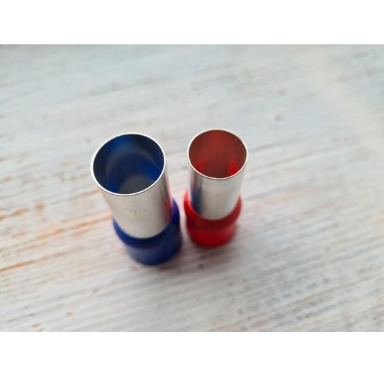 """Set of metal cutters """"Rounds"""", 2 pcs., Ø 1.5 cm - 1.6 cm"""