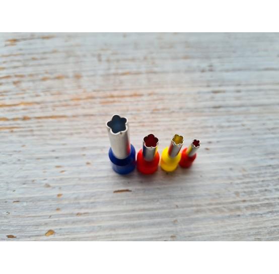 "Set of metal cutters ""Flowers"", 4 pcs., Ø 0.3 mm-0.6 cm"