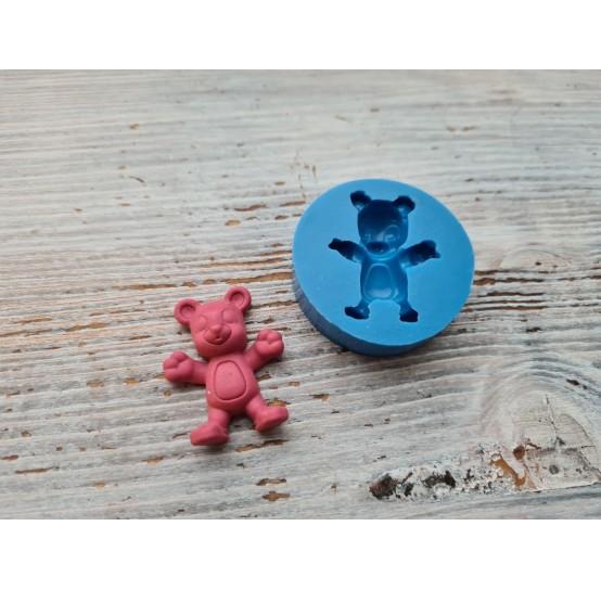 Silicone mold, bear, ~ 2,5*3,3 cm