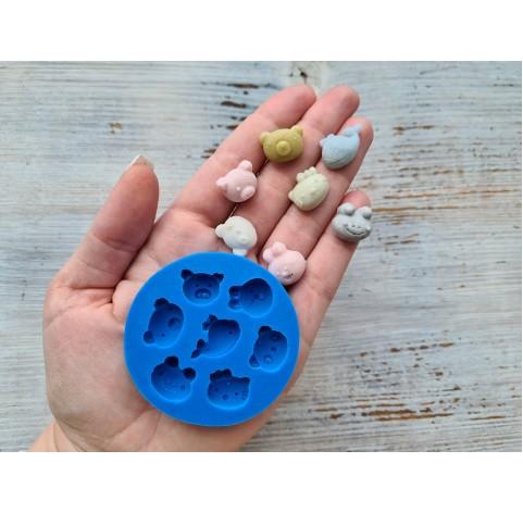 Silicone mold, animals, ~ 1.3*2 cm