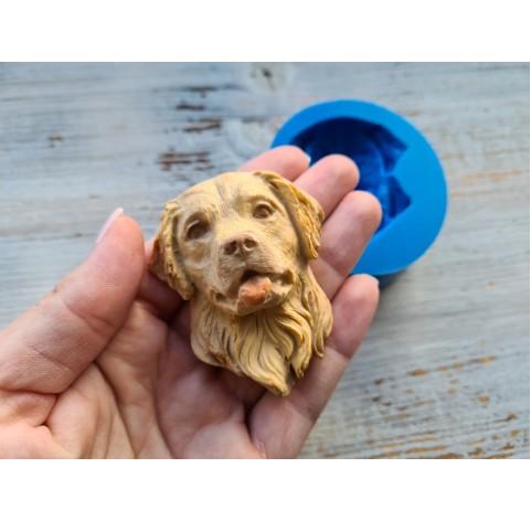 Silicone mold, dog, labrador,  version 2 ~ 5*6 cm