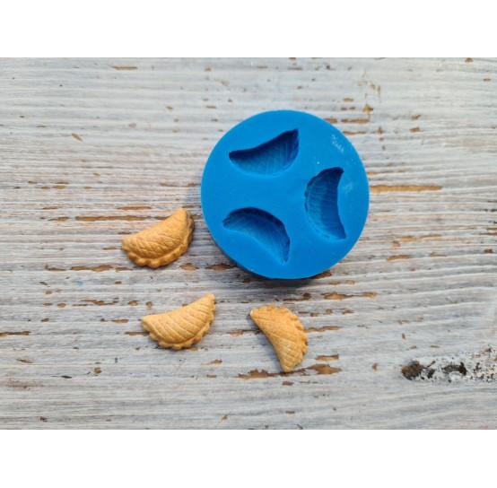 Silicone mold, miniature chebureks 3 pcs., 1.8-2 cm