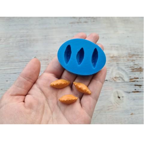Silicone mold, miniature piracy 3 pcs., 2.2-2.5 cm