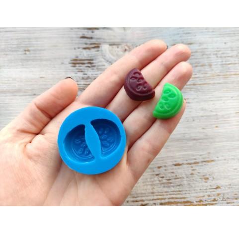 Silicone mold, candy watermelon, ~ 1,4*2,8 cm