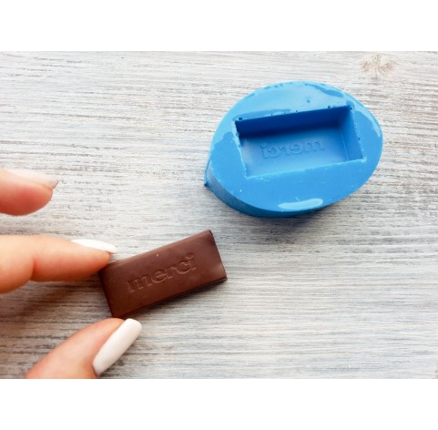 """Silicone mold, chocolate candy """"M"""", ~ 1.9-3.9 cm"""