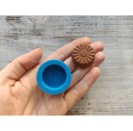 Silicone mold, chocolate candy, sun, ~ 3 cm