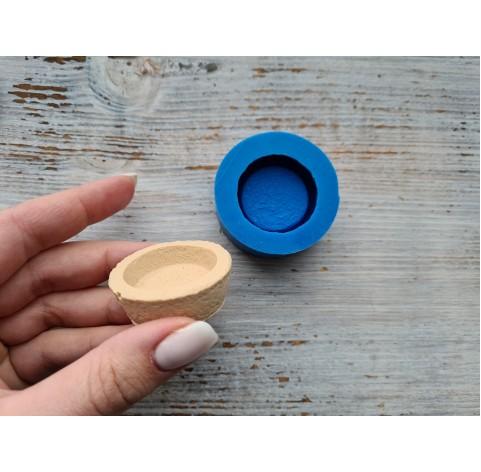 Silicone mold, tartlet, ~ Ø 4.2 cm ~ H 1.5 cm