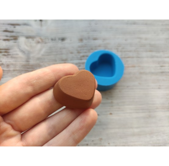 Silicone mold, candy heart 5, ~ 2.8*3.3 cm
