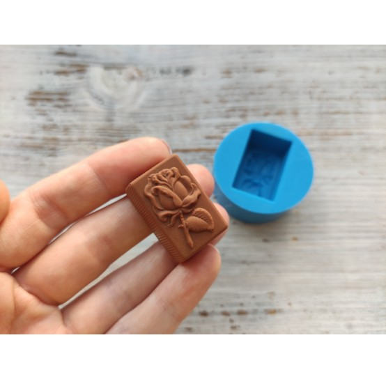 Silicone mold, chocolate candy rose flower, ~ 1.5*3 cm