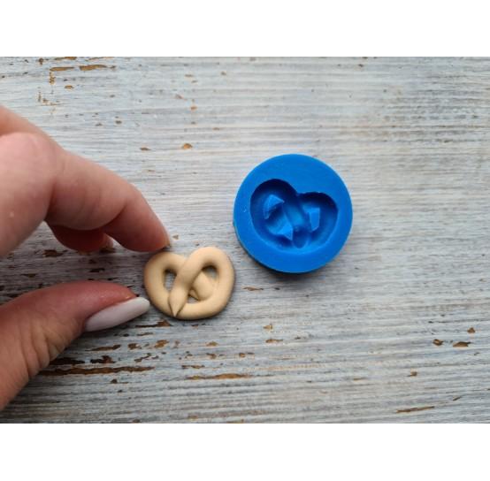 Silicone mold, pretzel, medium ~ 2.1-2.7 cm