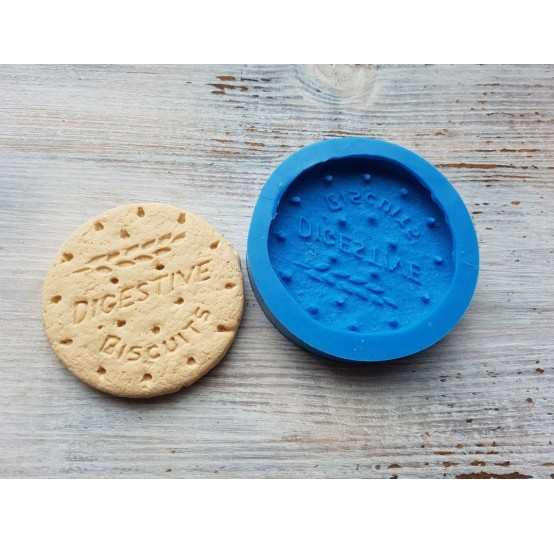 """Silicone mold, large cookie """"B"""", Ø 7 cm"""
