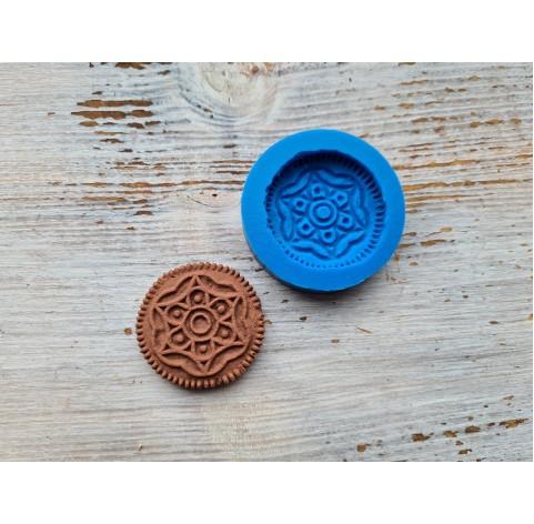 Silicone mold, gingerbread 11, ~ Ø 3.8 cm