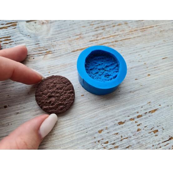 Silicone mold, cupcake, oval ~ 3.1x3.4 cm