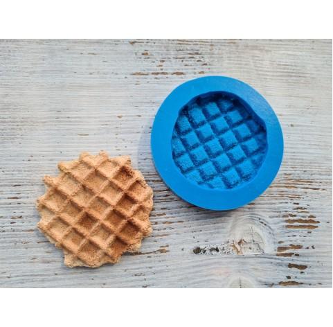 Silicone mold, Large waffle, ~ Ø 7 cm