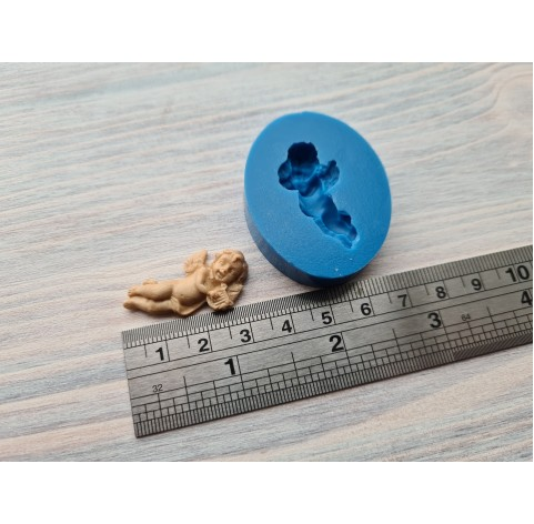 Silicone mold, angel 2, ~ 2.3*3.3 cm