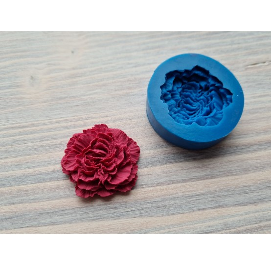 Silicone mold, carnation, ~ Ø 3 cm