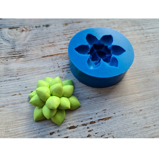 Silicone mold, succulents 4, ~ Ø 5 cm