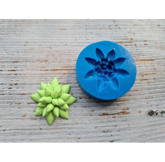Silicone mold, succulents 5, ~ Ø 4.5 cm
