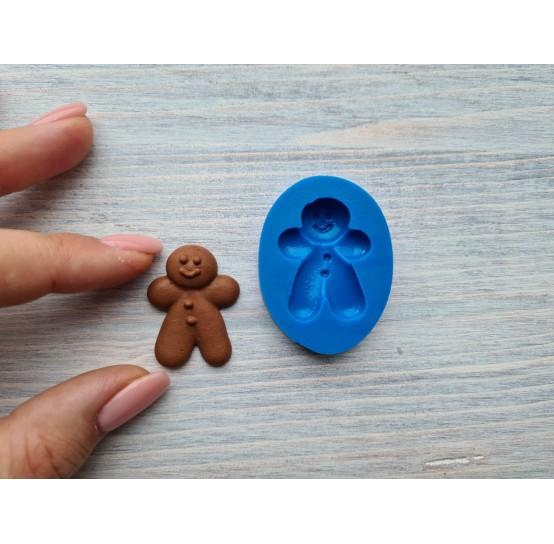 Silicone mold, gingerbread man, ~ 2.5*3.5 cm