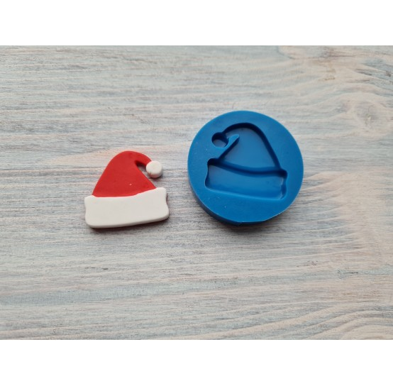 Silicone mold, Christmas hat, ~ 2.9*2.8 cm