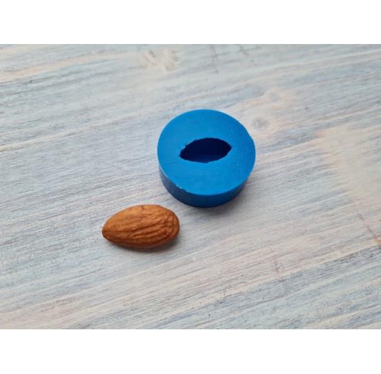 Silicone mold, almonds, 1 pcs., ~ 1.1*2.2 cm