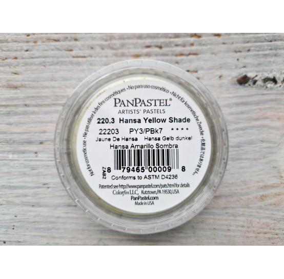 PanPastel soft pastel, Nr. 220.3, Hansa Yellow Shade