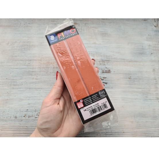 FIMO Professional oven-bake polymer clay, terrakotta, Nr.74, 454 gr
