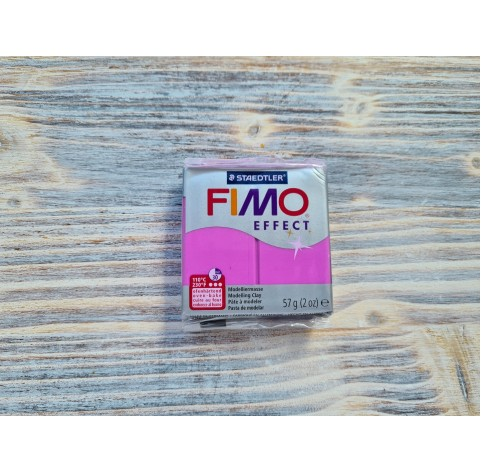 FIMO Effect Neon oven-bake polymer clay, neon purple, Nr. 601, 57 gr