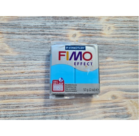 FIMO Effect Neon oven-bake polymer clay, neon blue, Nr. 301, 57 gr