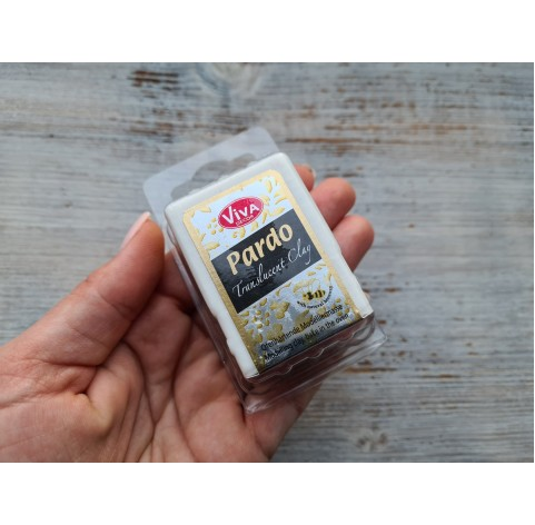 PARDO oven-bake polymer clay, agate translucent, 56 gr