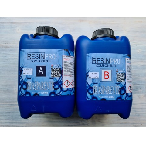 Epoxy Resin, Water effect, transparent, 8 kg