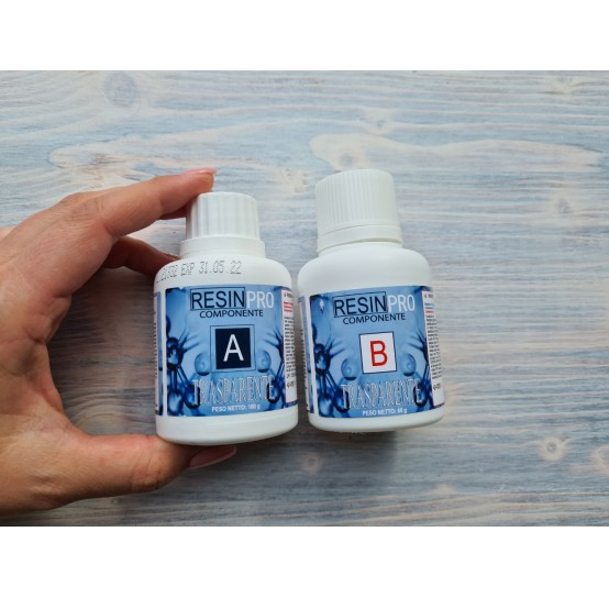 Epoxy Resin, Water effect, transparent, 160 g