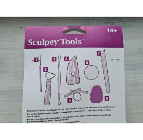 Sculpey Sculpting Tool Set, 8 pcs.
