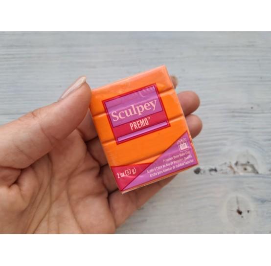 Sculpey Premo oven-bake polymer clay, orange, Nr. 5033, 57 gr
