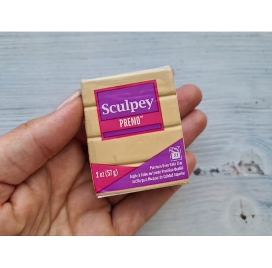 Sculpey Premo oven-bake polymer clay, ecru, Nr. 5093, 57 gr
