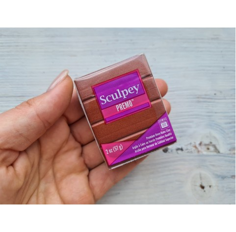 Sculpey Premo Accents oven-bake polymer clay, bronze, Nr. 5519, 57 gr