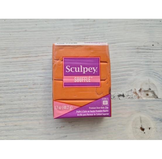 Sculpey Souffle oven-bake polymer clay, pumpkin, Nr. 6033, 48 gr