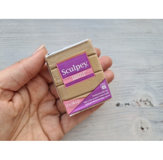 Sculpey Souffle oven-bake polymer clay, latte, Nr. 6301, 48 gr