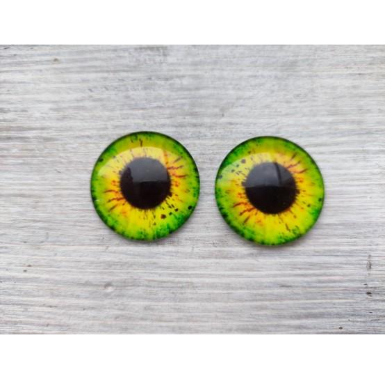 Glass eyes ZA1, ~ Ø 3 cm