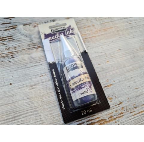 PENTART alcohol-based ink, violet, 20 ml, No. 21023