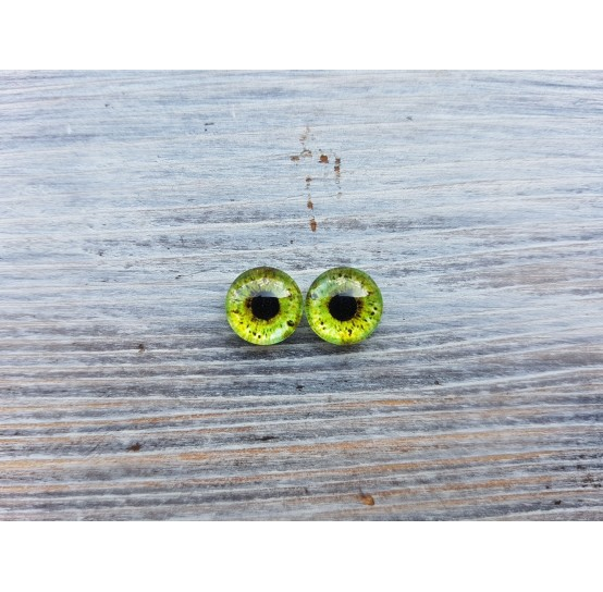 Glass eyes ZA10, ~ Ø 0.8 cm