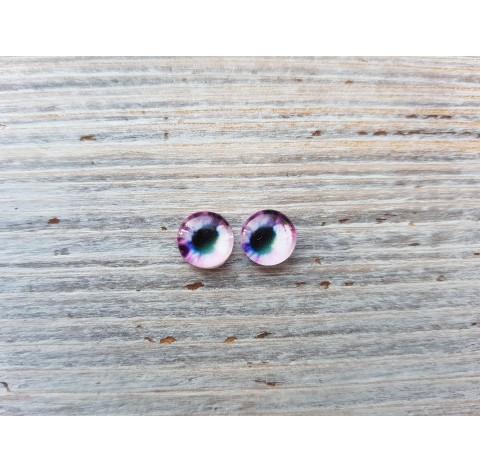 Glass eyes Violet 2, ~ Ø 0.8 cm