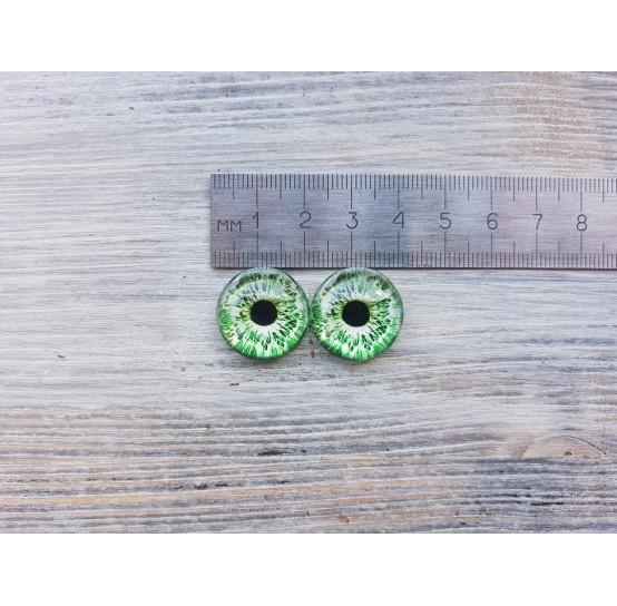 Glass eyes Green 2, ~ Ø 2 cm