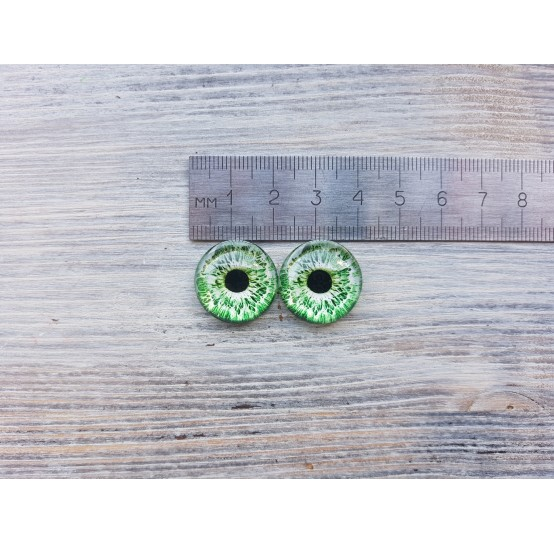 Glass eyes ZA2, ~ Ø 2 cm
