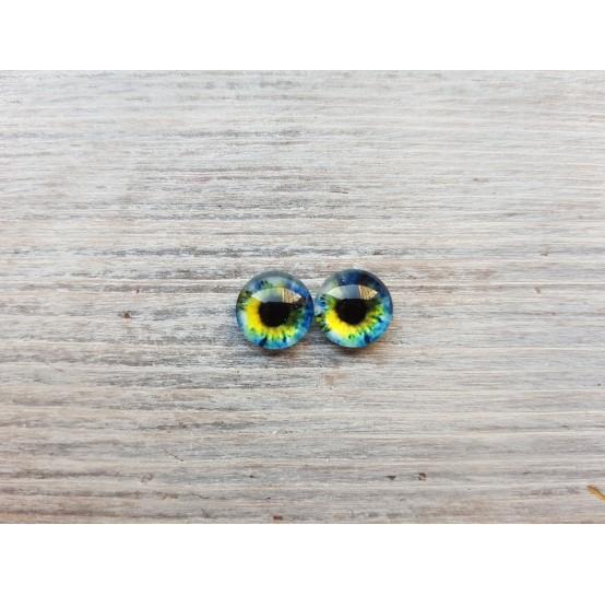 Glass eyes Z6, ~ Ø 1 cm