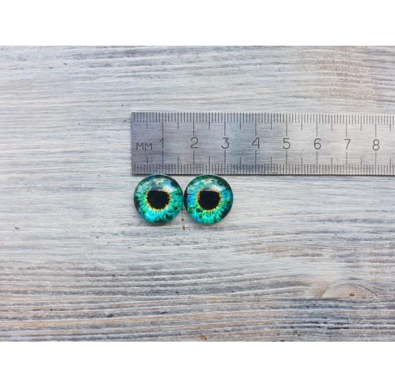 Glass eyes ZA4, ~ Ø 1.6 cm